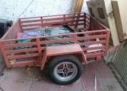 Excelente carro metalico 750kg