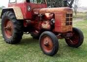 vendo excelente tractor fahr d400b