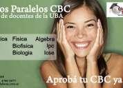 Clases particulares y cursos cbc