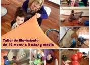 Estimulación temprana / taller de movimiento para chicos de 12 meses a 2 años y medio