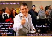 Mago humorista animador de fiestas para adultos-daniel conte-!!!arriba la fiesta!!!