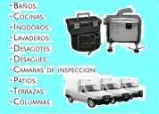 """Destapaciones de cañerias, plomeria 2000-7747 """"la solucion"""""""
