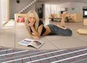 Instalación de pisos radiantes eléctricos