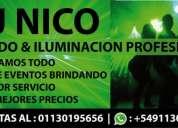 Dj nicolas sonido & iluminacion profesional