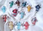 Cruces, denarios, rosarios