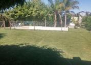 Casa 3 drios en lote de 800 metros con piscina