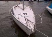 Oportunidad! velero laser 560  motor 8 hp  velas excelentes