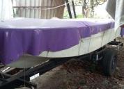 Excelente bote con trailer