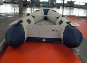 bote / gomón powertec 3.30 m desarmable