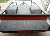 Excelente trailer para carga o cuatriciclo