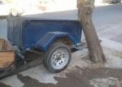 Carro tipo trailers 1 eje