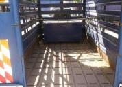 Vendo trailer jaula de vacas y caballos