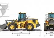 Pala cargadora zl 50 iron xcmg de 3 m3 5000 kg increible oferta
