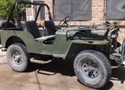 Oportunidad! vendo jeep willyz 4x4 modelo 46