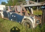 camion de auxilio grua dodge 1964 equipo hidraulico titular como nuevo