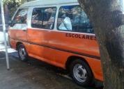 Venta de camioneta escolar hyundai h100