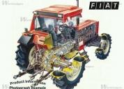 Venta de tractor fiat 1380