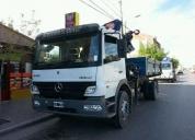 Camión mercedez atego con hidro grua y caja,aprovecha ya!