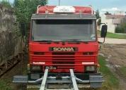 Vendo excelente scania p93 210