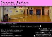 Alquiler de sala para clases de danza y eventos en villa del parque