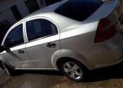 Chevrolet aveo modelo 2009 en buen estado