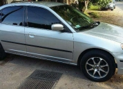 Vendo honda civic lx impecable precio charlable