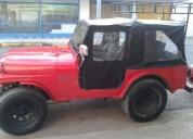 Excelente jeep ika 221 gnc, direccion hidraulica