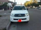 Excelente toyota hilux dx 2.5 pack 4x2 2008
