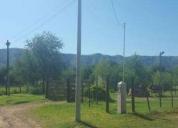 Excelente inversion nºref: 600 terreno c/cimientos amoj en villa bustos a 6 cdras aprox de rta y 8