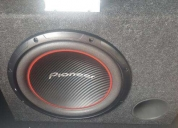 Subwoofer pionner  potencia,contactarse.