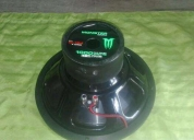Excelente woofer de 12 w monster