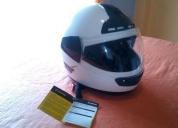 Vendo casco vertico xl, blanco sin uso