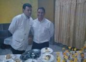 Mozo y cocinero ayudante