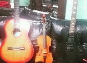 Se dictan clases particulares  de guitarra eléctrica o guitarra clásica segunda mano  Capital Federal y Gran Buenos Aires