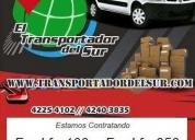 Chofer con camioneta para empresa fletes reparto,contactarse.