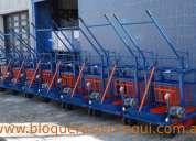 maquinas para fabricar block  - bloqueras