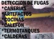 Plomero gasista destapaciones artefactos,de gas filtraciones