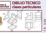 Clases de dibujo técnico y proyectual – cbc y universitario