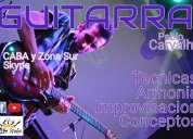 Clases de guitarra y musica por pablo carvalho