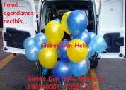 Globos inflados con helio en mendoza