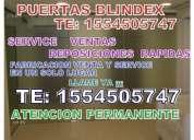 Service y reparacion de puertas blindex te: 1554505747  urgencias