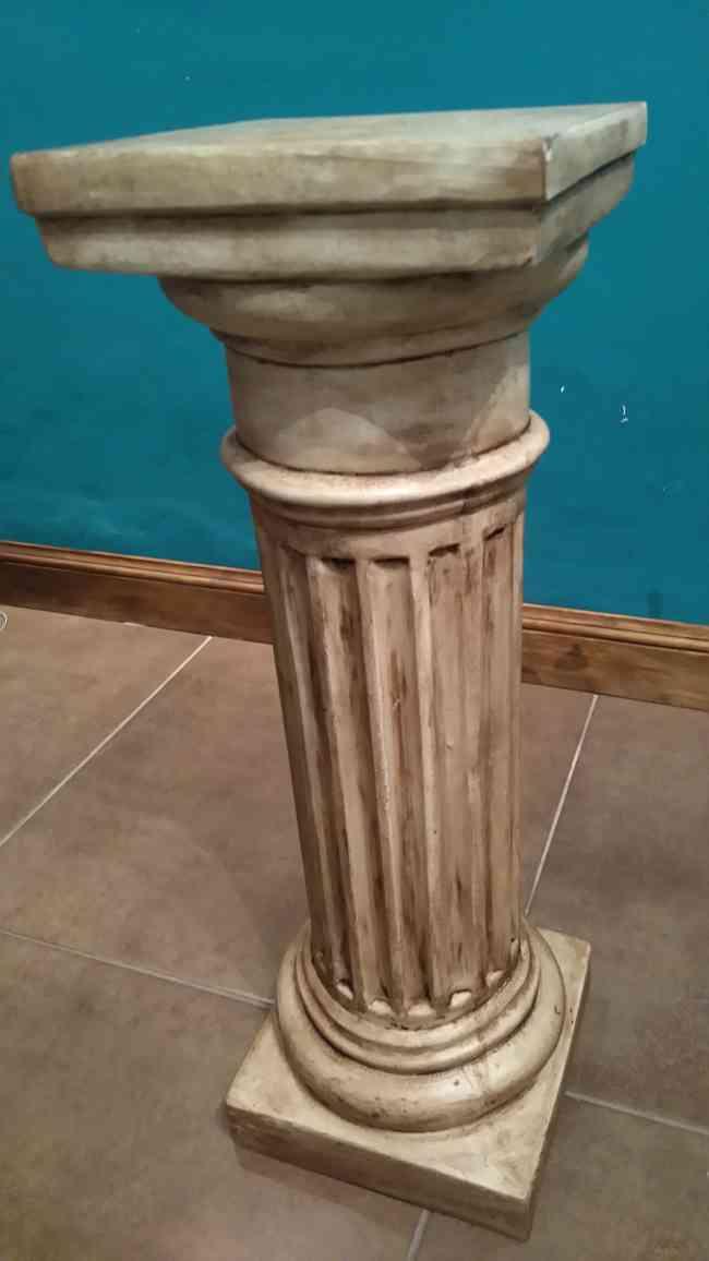 columnas de yeso doricas patinadas decoracion y diseo general san martn villa ballester doplim
