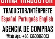 Traductor/intérprete chino español en yiwu china