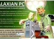 """Galaxian pc """" reparación y mantenimiento de computadoras"""""""