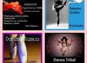 danzas arabes,clasico y jazz