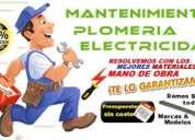 """Plomeros destapaciones , //155240-3693// electricistas, cerrajeros, en """"""""temperley""""&q"""