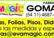 Fabrica planchas goma eva – eva magic s.a.