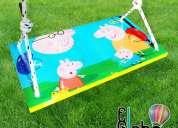 Hamacas redondas y rectangulares infantiles! madera y diseño elglobo deco