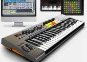 Clases a domicilio de informatica musical y teclados.