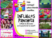Inflables panchita  alquiler